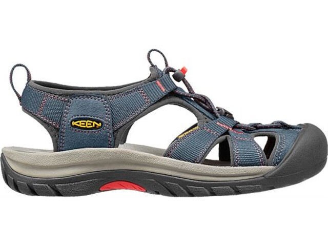 Keen Venice H2 Sandals Dame midnight navy/hot coral